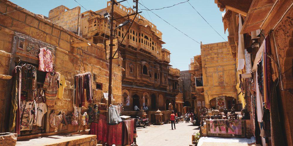 Inside the Fort of Jaisalmer