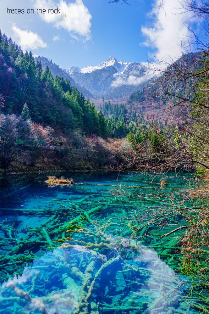 Jiuzhaigou National Park in China