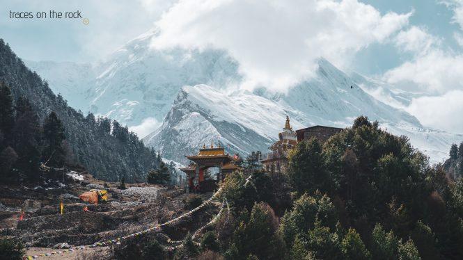 Manaslu Trek - Monastery in Lho