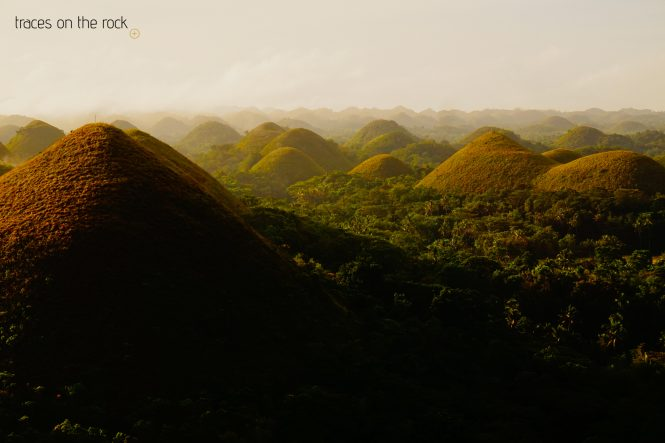 Chocolate Hills on Bohol