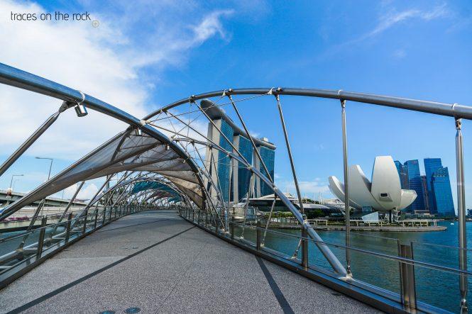 Helix Bridge in Singapore