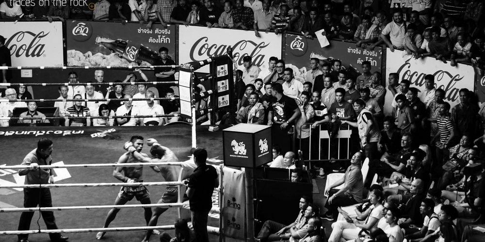 Muay Thai in Ratchadamnoen Stadium in Bangkok