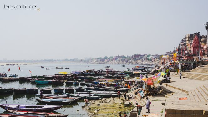 View on Dashashwamegh ghat