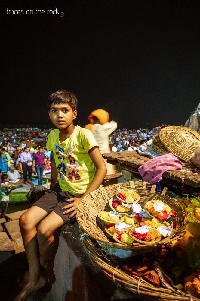 Ganga aarti celebration at Dashashwamegh ghat