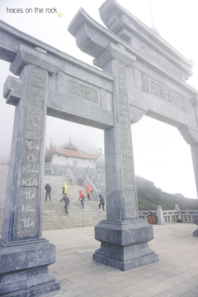 Temple on top of Fansipan Mountain