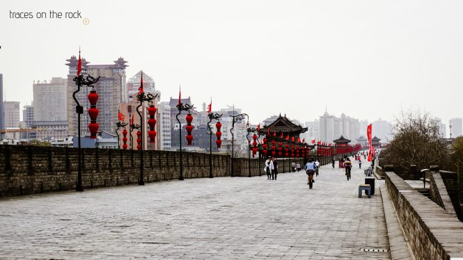 Ancient wall of Xi'an