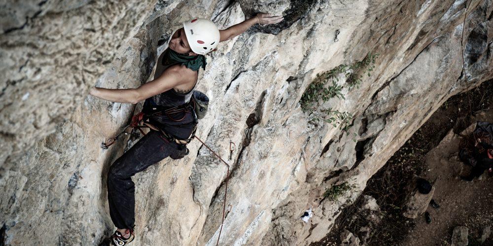 Climbing at White Mountain