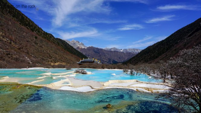 Multi-Colored Pond of Huanglong Scenic and Historic Interest Area
